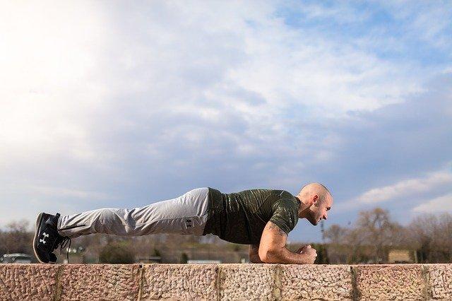 Упражнения за корем - планк